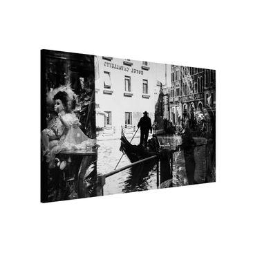Produktfoto Magnettafel - Venice Reflections - Memoboard Quer 2:3
