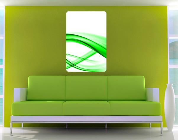 Produktfoto Selbstklebendes Wandbild Green Element No.2