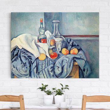 Immagine del prodotto Stampa su tela - Paul Cézanne - Natura morta con Bottiglia di Liquore alla Menta - Orizzontale 3:4