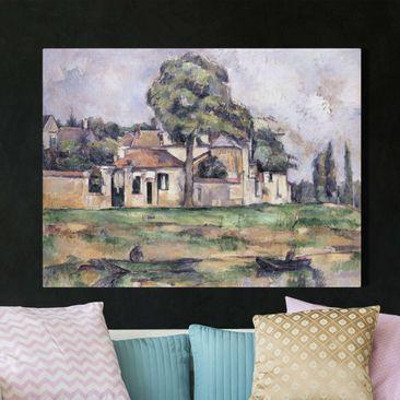 Immagine del prodotto Stampa su tela - Paul Cézanne - Rive della Marna - Orizzontale 3:4