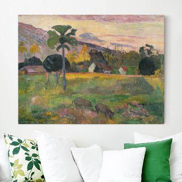 Immagine del prodotto Stampa su tela - Paul Gauguin - Haere mai - Orizzontale 3:4