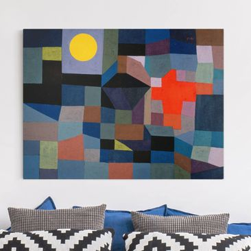 Product picture Canvas Art - Paul Klee - Fire At Full...