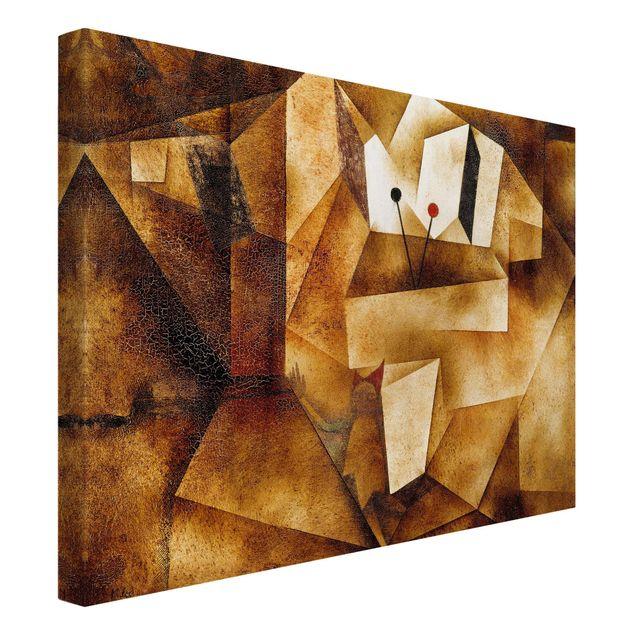 Produktfoto Leinwandbild - Paul Klee - Paukenorgel - Quer 3:4, Spiegelkantendruck links, Artikelnummer 210749-FL