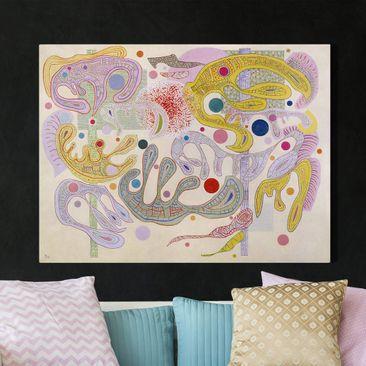Immagine del prodotto Stampa su tela - Wassily Kandinsky - Formes capricieuses - Orizzontale 3:4