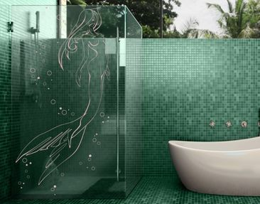 Product picture Window Sticker no.IS53 Mermaid