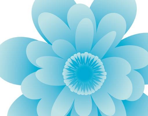 Produktfoto Fensterfolie - Fenstersticker No.EG22 Sommerblüten - Fensterbilder