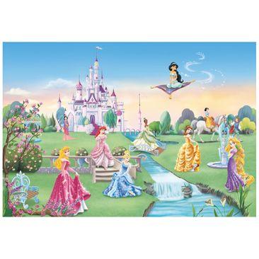 Immagine del prodotto Carta da parati per bambini - Principesse Disney: castello - Fotomurale
