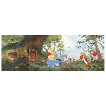 Produktfoto Winnie Pooh Tapete - Pooh's Haus - Komar Fototapete