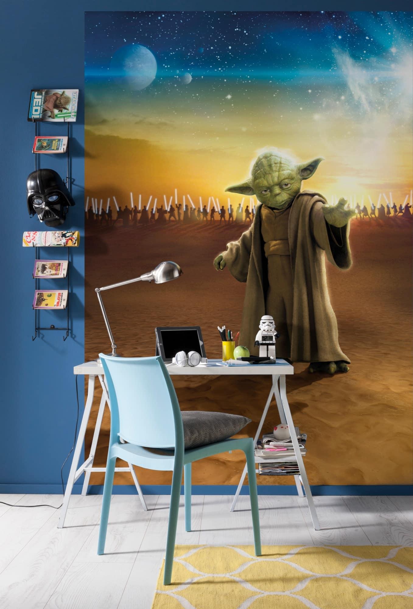 Star Wars Tapete - Meister Yoda - Komar Fototapete