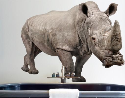 Produktfoto Wandtattoo No.331 Rhinoceros