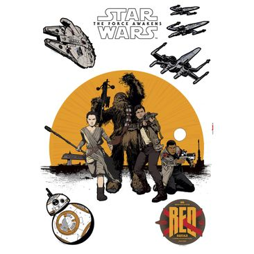 Produktfoto Star Wars Wandtattoo - Widerstand - Komar Deco-Sticker
