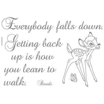 Immagine del prodotto Adesivo murale per bambini - Bambi: getting back up
