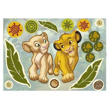 Immagine del prodotto Adesivo murale per bambini - Il Re Leone: Simba e Nala