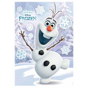 Immagine del prodotto Adesivo murale per bambini - Frozen il regno di ghiaccio: Olaf