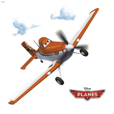Produktfoto Disney Planes Fenstersticker - Planes Set - Komar Deco-Sticker