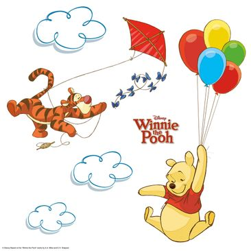 Product picture Kids Window Sticker - Winnie Pooh - Pooh...