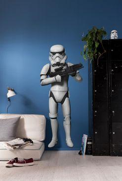 Produktfoto Star Wars Wandtattoo - Stormtroope - Komar Deco-Sticker