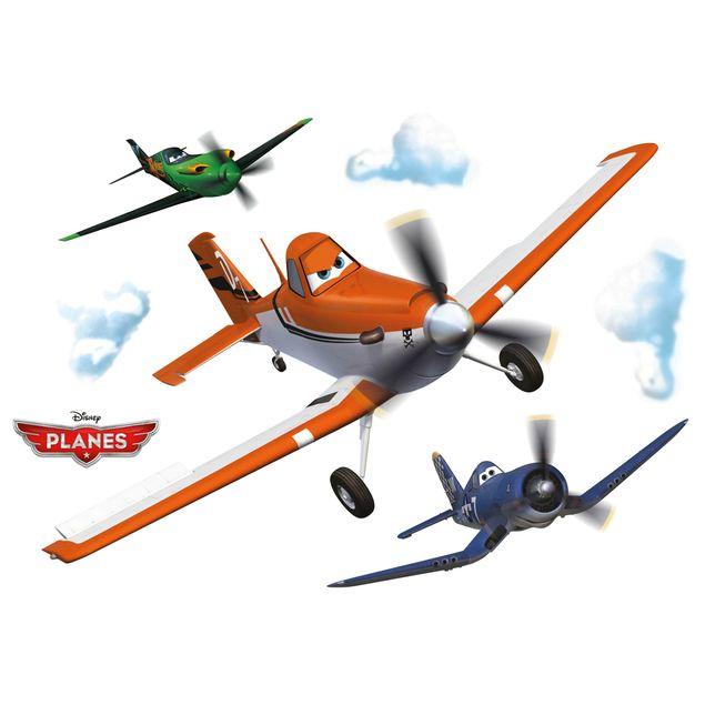 Produktfoto Disney Planes Wandtattoo - Dusty - Komar Deco-Sticker