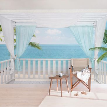 Product picture Photo Wall Mural - Holiday in Paradise -...