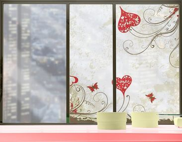 Product picture Window Mural Heart Background