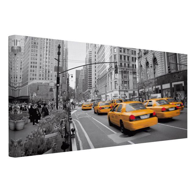 leinwandbild schwarz wei 223 new york new york quer 1 2