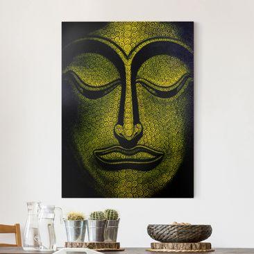 Produktfoto Leinwandbild - Buddha in Laos - Hoch 4:3