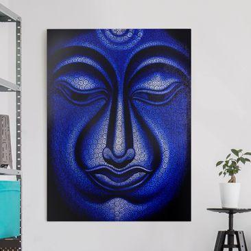 Produktfoto Leinwandbild - Buddha in Nepal - Hoch...