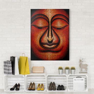 Immagine del prodotto Stampa su tela - Buddha In Tibet - Verticale 4:3