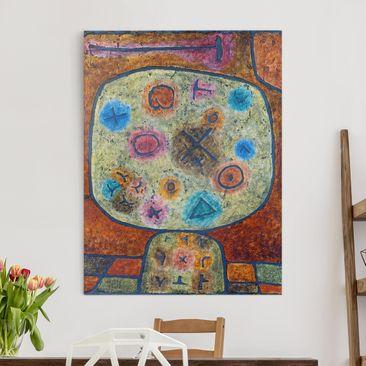 Immagine del prodotto Stampa su tela - Paul Klee - Fiori in Pietra - Verticale 4:3