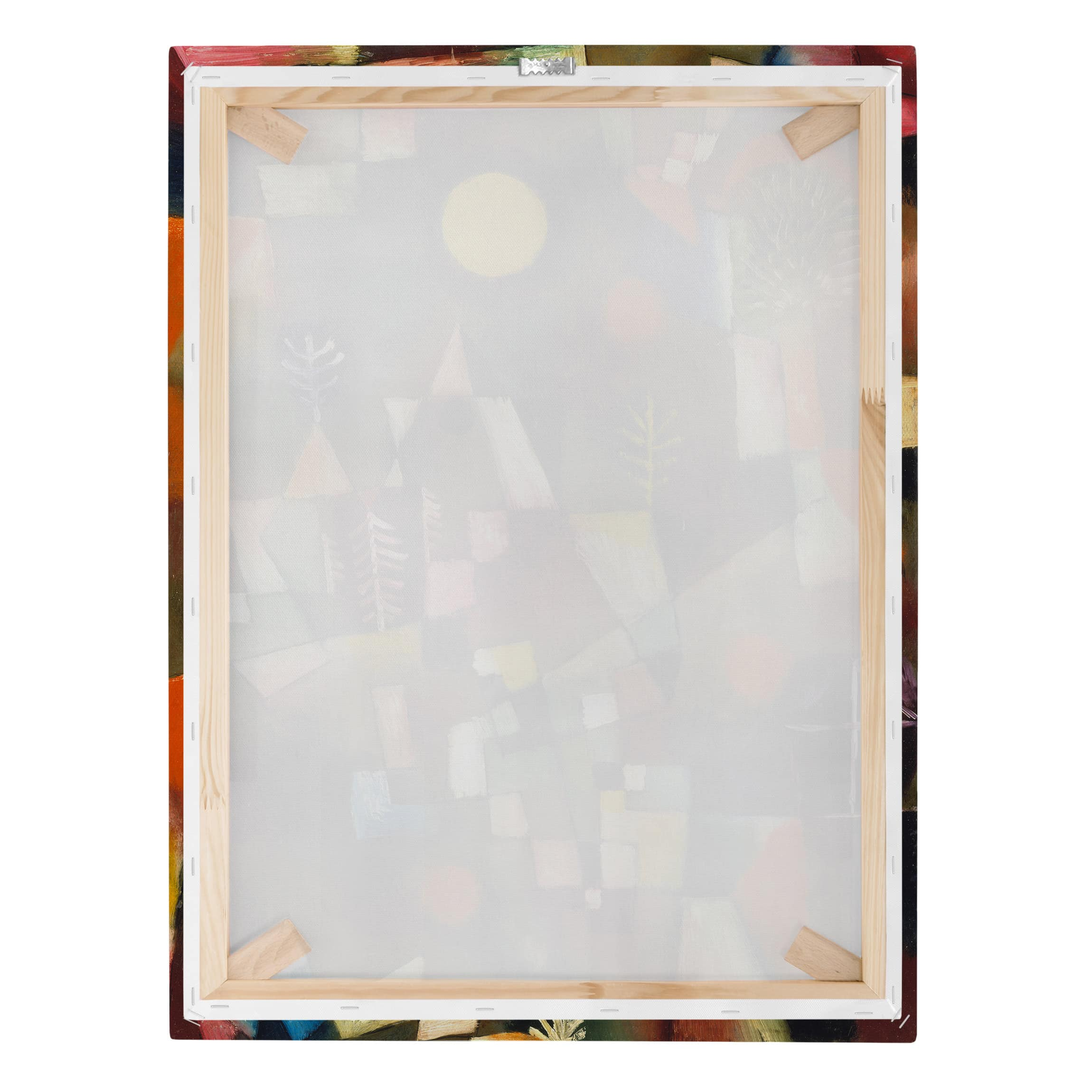 Stampa su tela paul klee la luna piena verticale 4 3 for Stampe su tela ikea