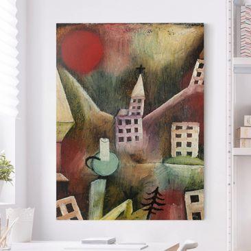 Immagine del prodotto Stampa su tela - Paul Klee - Villaggio distrutto - Verticale 4:3
