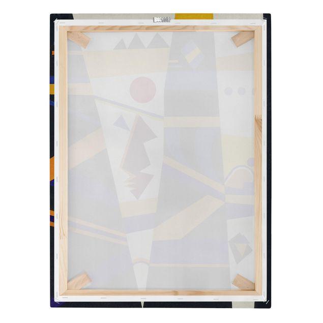 Produktfoto Leinwandbild - Wassily Kandinsky - Bindung - Hoch 4:3, Keilrahmen Rückseite, Artikelnummer 211757-FB