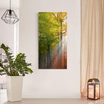 Product picture Canvas Art - Morning Light - Portrait...