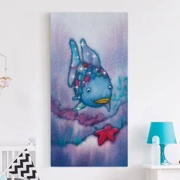 Produktfoto Leinwandbild - Der Regenbogenfisch - Der Seestern - Hoch 2:1, vergrößerte Ansicht in Wohnambiente, Artikelnummer 211845-XWA