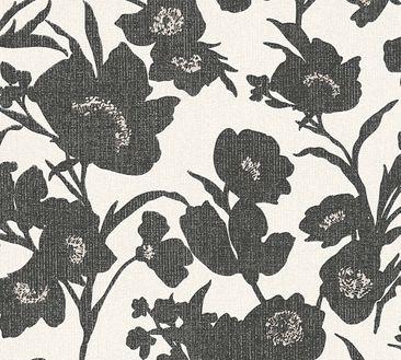 Immagine del prodotto Carta da parati a fiori Esprit - Fall in Love Crema-Metallizzato-Nero - Esprit Home 12