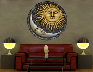Produktfoto Wall Decal No.459 Sun and Moon