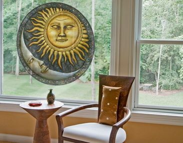 Product picture Window Sticker No.459 Sun and Moon