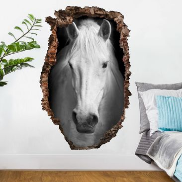 Produktfoto 3D Wandtattoo - Dream of a Horse - Hoch...