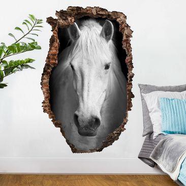 Immagine del prodotto Adesivo murale 3D - Dream Of A Horse - verticale 3:2