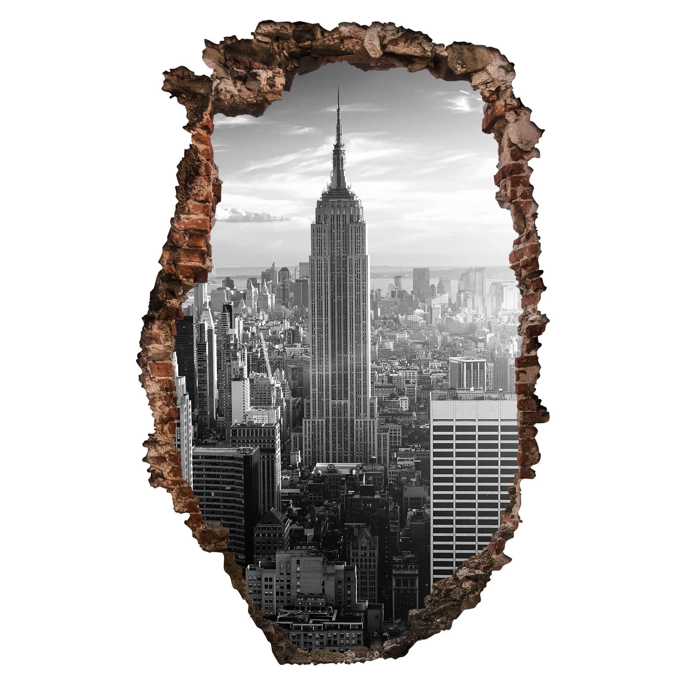 Manhattan Wandfarbe: Manhattan Skyline