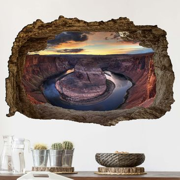 Produktfoto 3D Wandtattoo - Colorado River Glen Canyon - Quer 2:3
