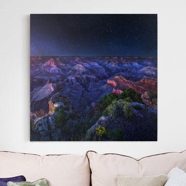 Produktfoto Leinwandbild - Grand Canyon Night -...