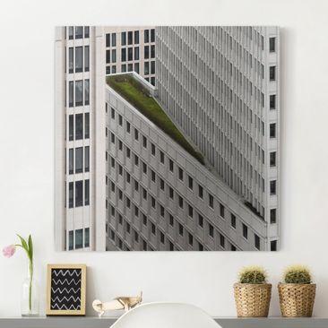 Produktfoto Leinwandbild - Das grüne Element -...