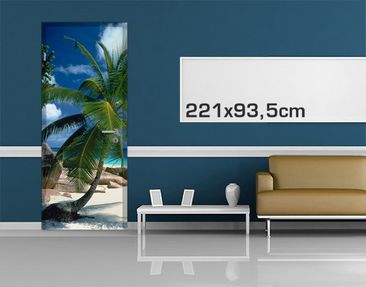Product picture Door Wall Mural Dreamy Beach