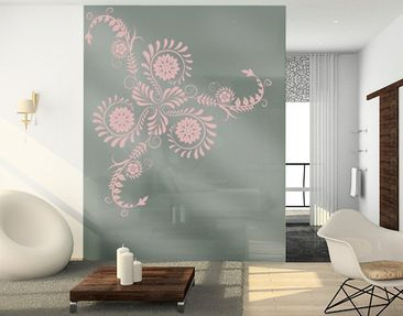 Product picture Window Sticker no.790 Floral Ornament