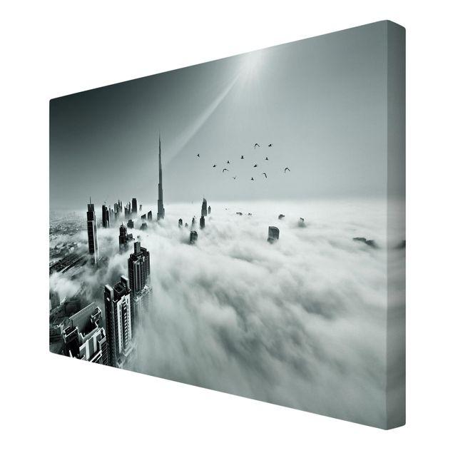 Produktfoto Leinwandbild - Up and Above - Quer 2:3, Spiegelkantendruck rechts, Artikelnummer 212634-FR