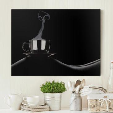 Produktfoto Leinwandbild - Coffee in Bed - Quer 3:4