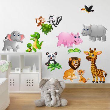 Produktfoto Wall Decal Jungle Animals