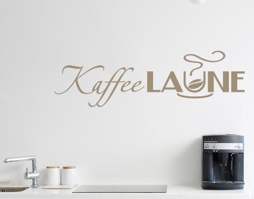 Produktfoto Wandtattoo Sprüche - Wandworte No.UL91 Kaffeelaune