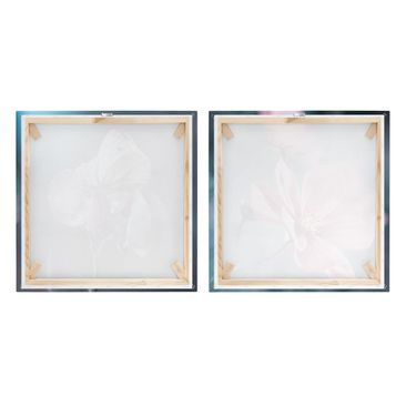 Product picture Canvas Art Two-part - Butterfly And...